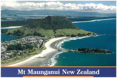 Postcard, Mauao, Mount Maunganui