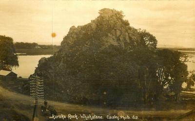 Postcard, Pohatuora, Whakatane