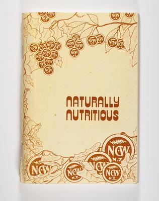 Cookbook, Naturally Nutritious