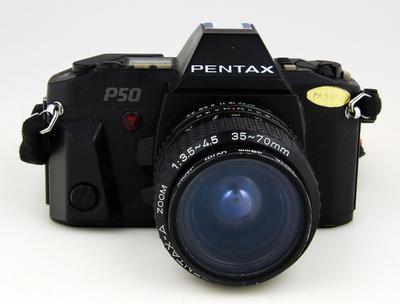 Camera, Pentax P50