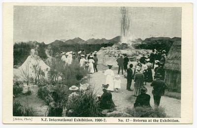 Postcard, New Zealand International Exhibition