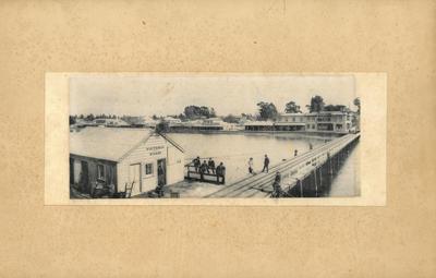 Print, Photographic, Victoria Wharf & The Strand, Tauranga