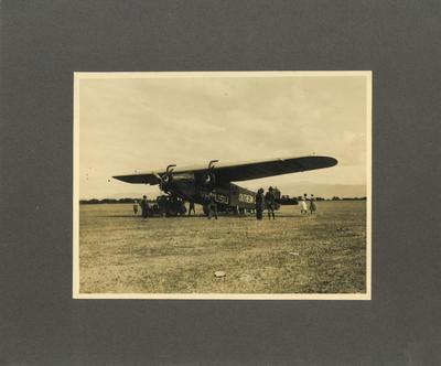 Print, Photographic, Aeroplane, Southern Cross