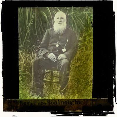 Lantern Slide, Rev J.B. Woolnough