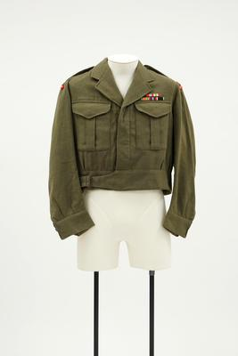 Jacket, Battle Dress, New Zealand Army