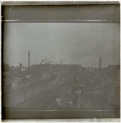 Lantern Slide, Steam Locomotives