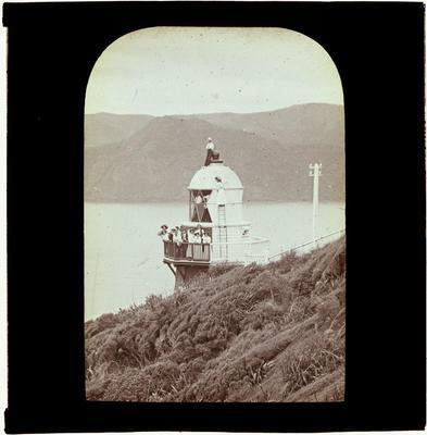 Lantern Slide, Lighthouse