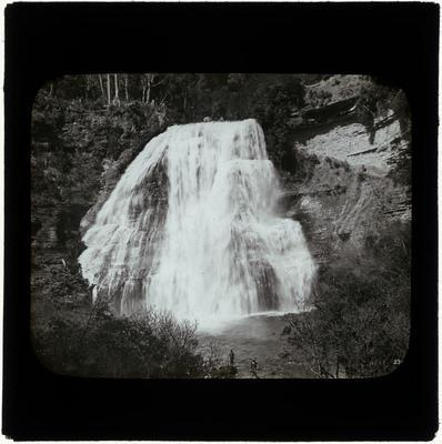 Lantern Slide, Mokau Falls