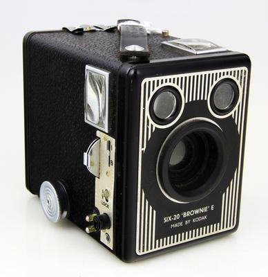 Camera, Six-20 Brownie Model E