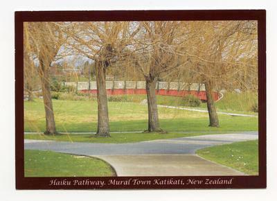 Postcard, Katikati
