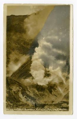 Postcard, White Island, Whakatane