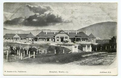 Postcard, Waihi