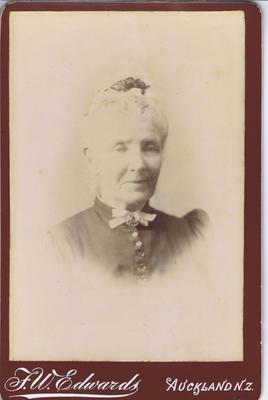 Print, Photograph, Cabinet Card, Elderly woman