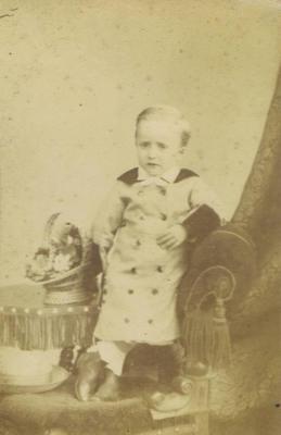 Print, Photograph, Carte de visite, Boy