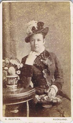 Print, Photograph, Carte de visite, Woman