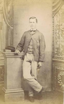 Print, Photograph, Carte de visite, Young Man