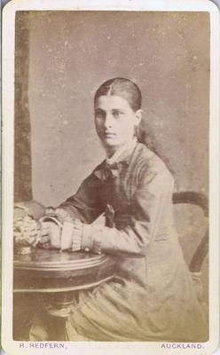 Print, Photograph, Carte de visite, Young woman