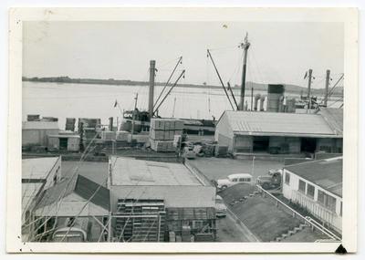 Print, Photographic, Railway Wharf, Tauranga