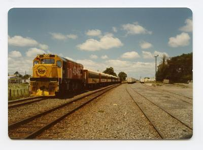 Print, Photographic, Orange Festival, Railway, Mount Maunganui
