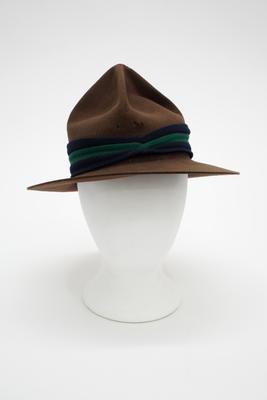 Hat, Felt, Peaked Crown, Type 4