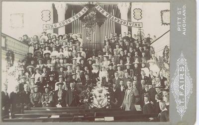 Print, Photographic, Memorial Service for Bertie Tucker