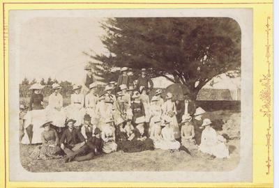 Print, Photographic, Group portrait