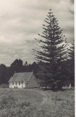 Print, Photographic, St James Church, Kerikeri