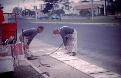 Slide, Road Markers, Tauranga