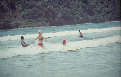 Slide, Whangamata Beach