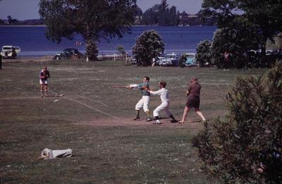 Slide, Baseball, Memorial Park, Tauranga