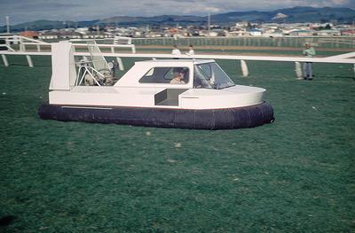 Slide, Hovercraft, Tauranga Racecourse