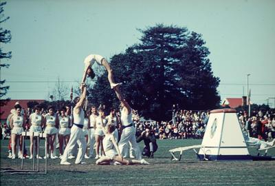Slide, Gymnastic Demonstration
