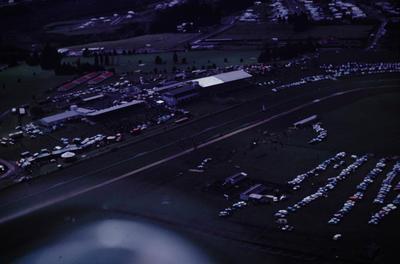 Slide, Aerial View, Tauranga Racecourse