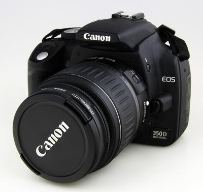 Camera, Canon EOS 350D