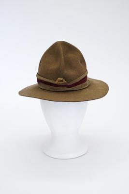 Hat, Felt, Peaked Crown, Type 3