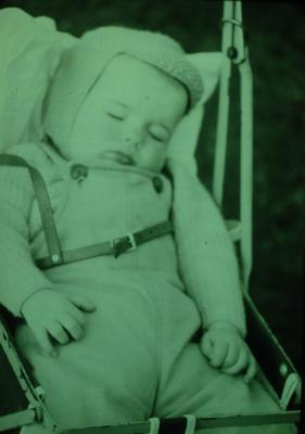 Slide, Sleeping Baby