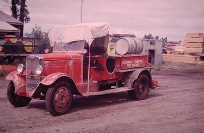 Slide, Fire Truck, Matakana Island