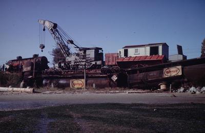 Slide, Train Derailment, Matapihi
