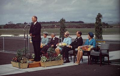 Slide, Official Opening, Tauranga Airport