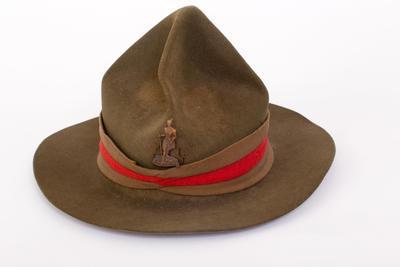 Hat, Felt, Peaked Crown, Type 1