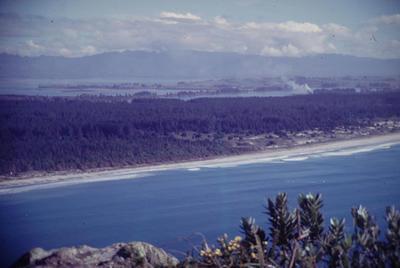 Slide, Matakana Island from Mauao