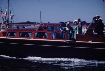 Slide, Royal Visit, Tauranga Harbour
