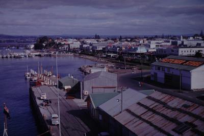 Slide, Tauranga Wharves