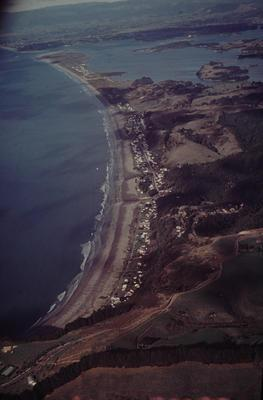 Slide, Aerial View, Ohope Beach and Ohiwa Harbour