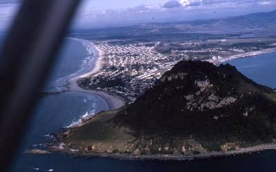 Slide, Aerial View, Mauao