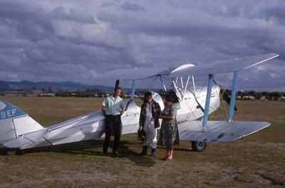 Slide, Tiger Moth, Tauranga Airport