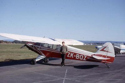 Slide, Barry Irwin, Tauranga Airport