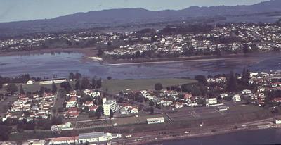 Slide, Aerial View, Cliff Road, Tauranga