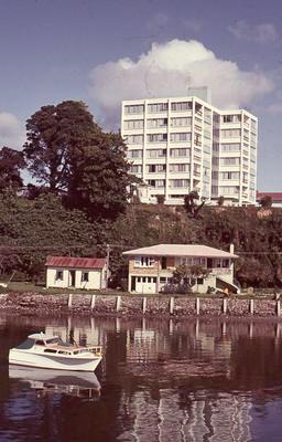 Slide, Elizabeth Street Apartments, Tauranga
