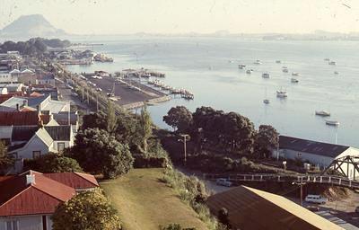 Slide, Tauranga Harbour from Elizabeth Street